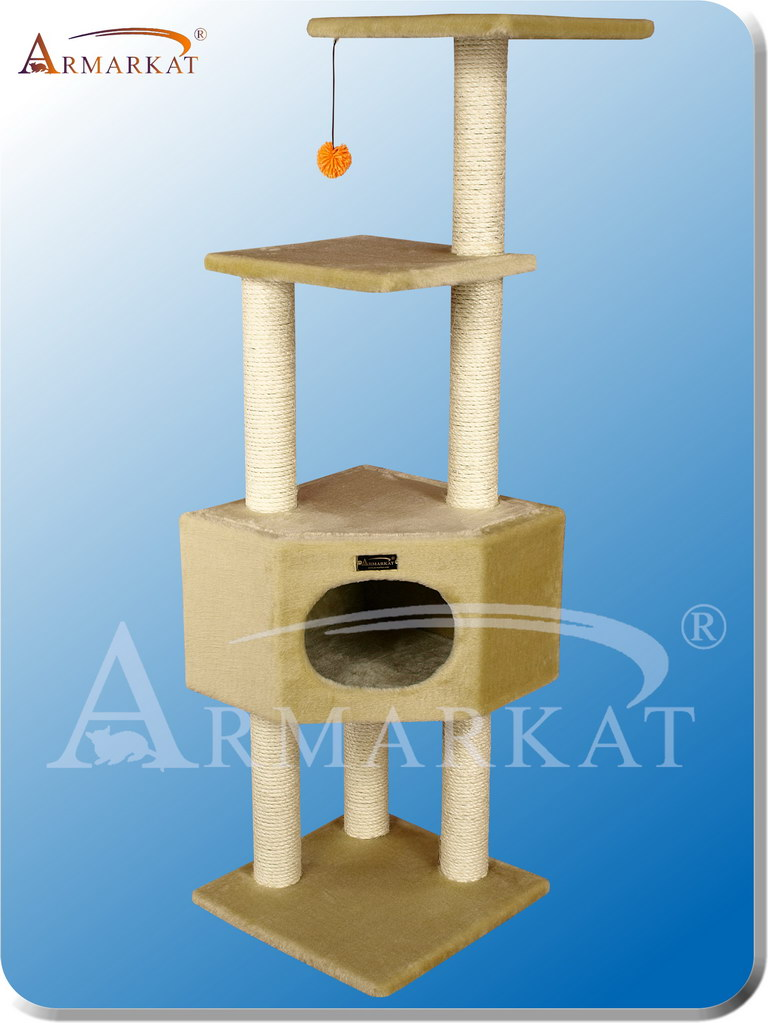 Classic Cat Tree A5201 - Height 52""
