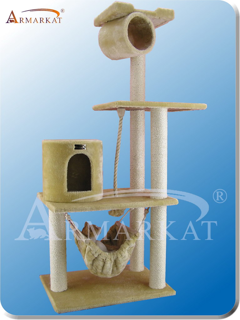 Classic Cat Tree A6202 - Height 62""