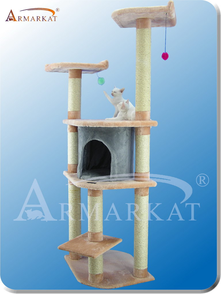 Classic Cat Tree A6401 - Height 64""