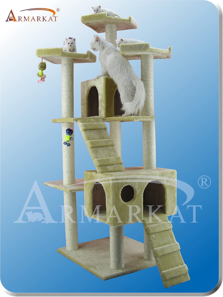 Classic Cat Tree A7401 - Height 74""