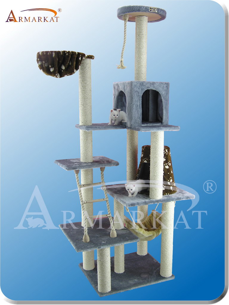 Classic Cat Tree A7802 - Height 78""
