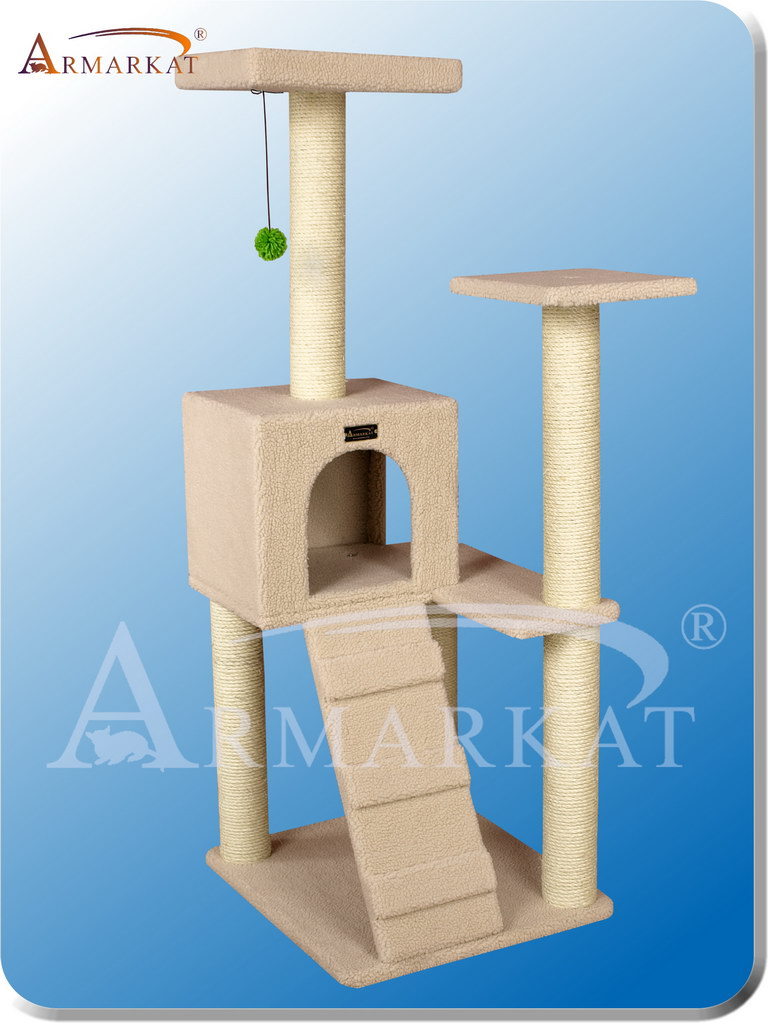 Classic Cat Tree B5301 - Height 53""