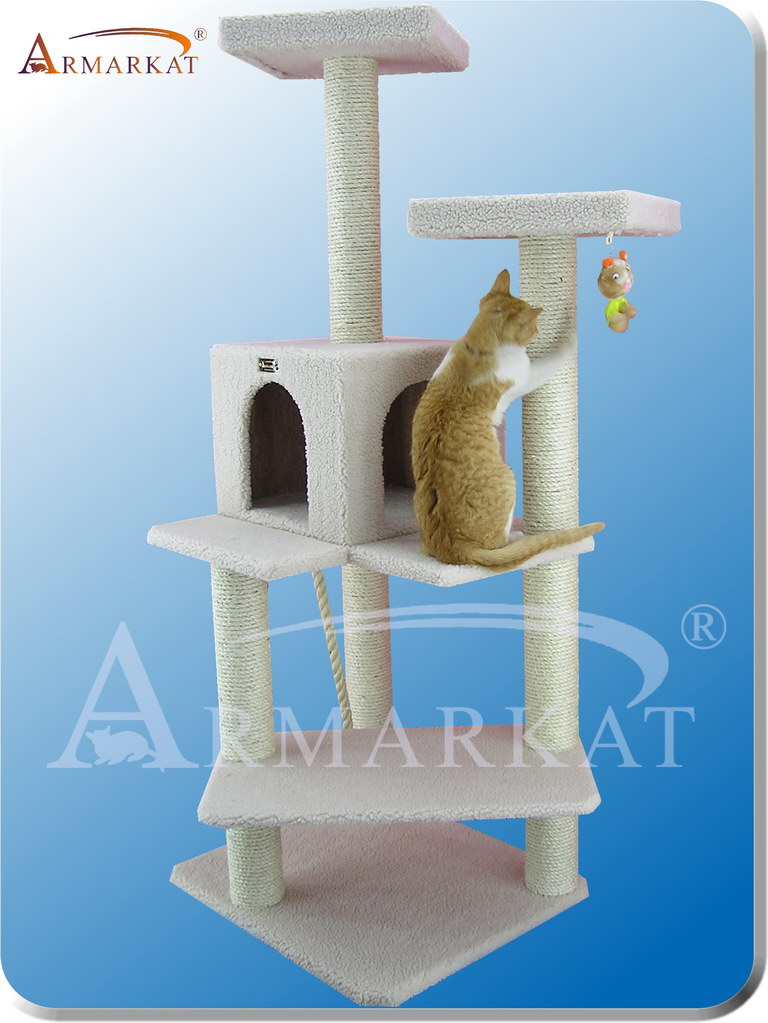 Classic Cat Tree B5701 - Height 57'