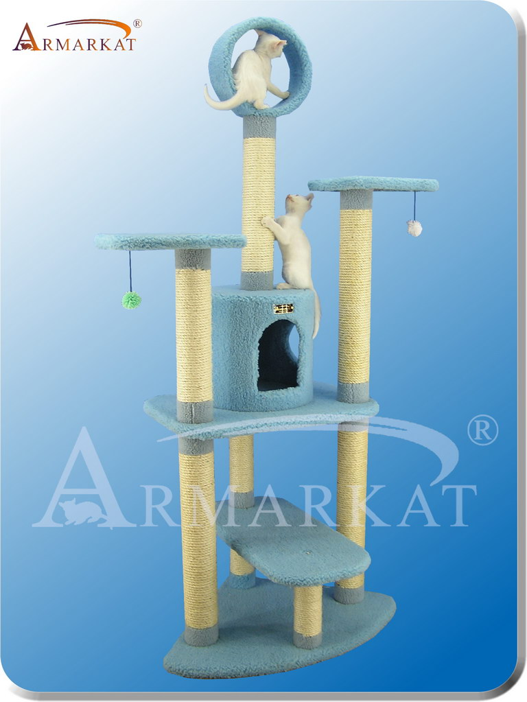 Classic Cat Tree B6605 - Height 66""