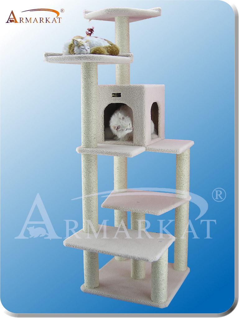 Classic Cat Tree B6802 - Height 68""