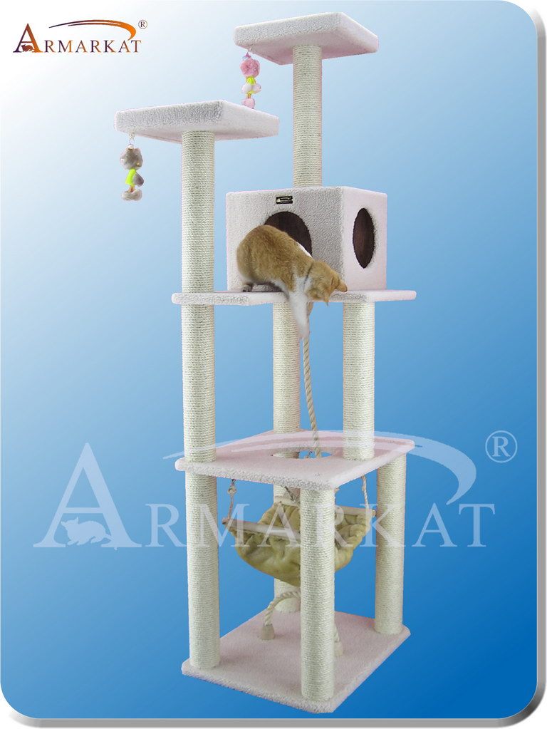 Classic Cat Tree B7301 - Height 73""
