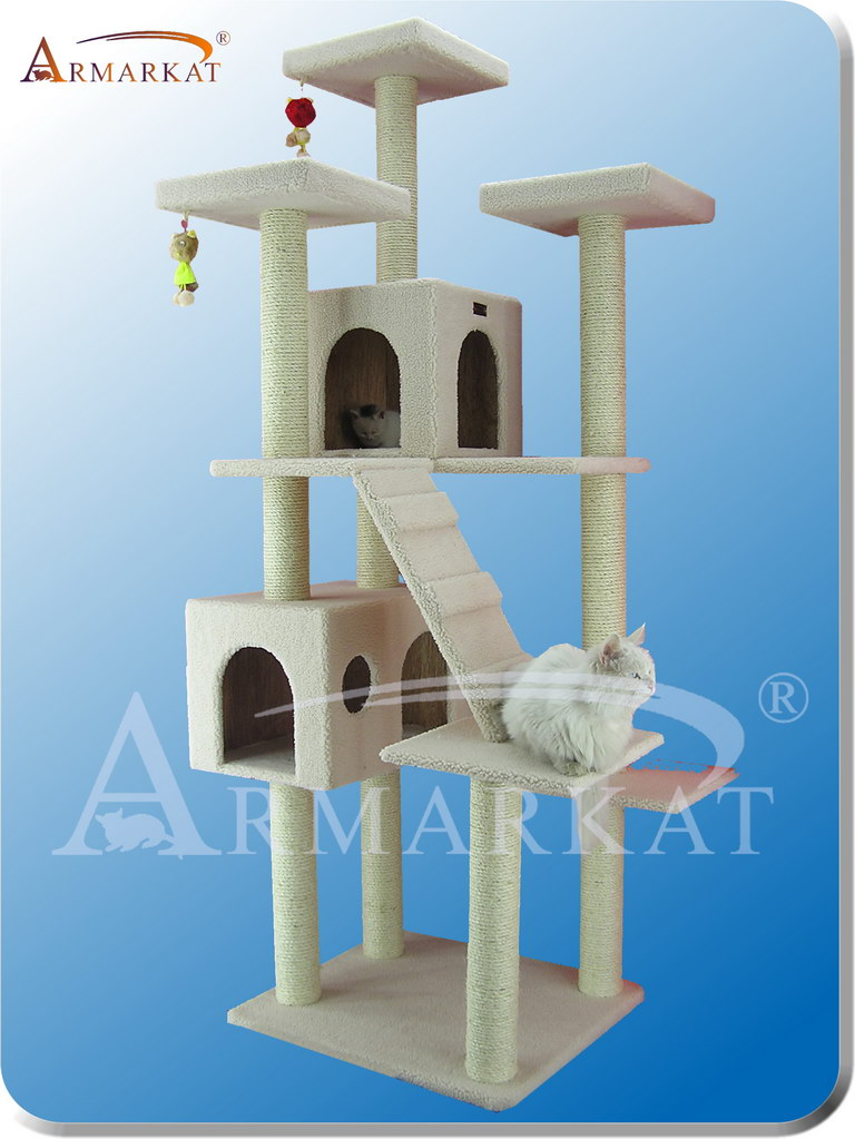 Classic Cat Tree B7701 - Height 77""