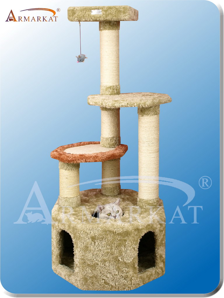 "Premium Cat Tree X5703 - Height 57"" - Click Image to Close"